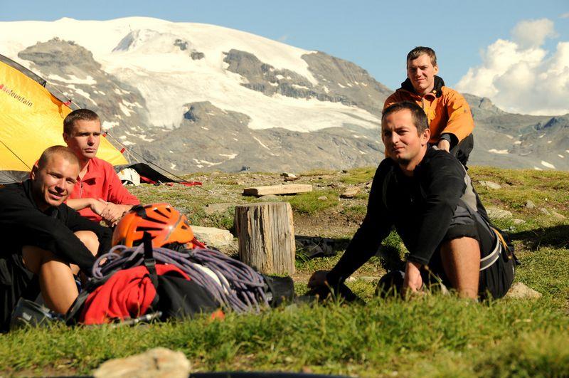 Base camp Matterhorn