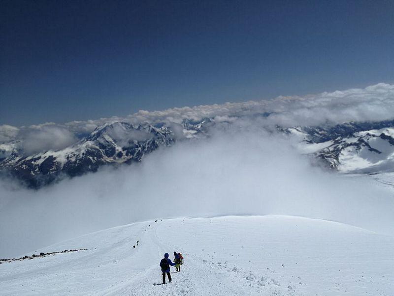 Skały Pastuchova Elbrus