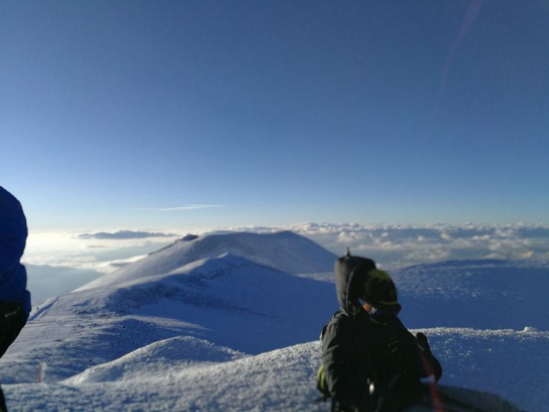 Mount Elbrus summit