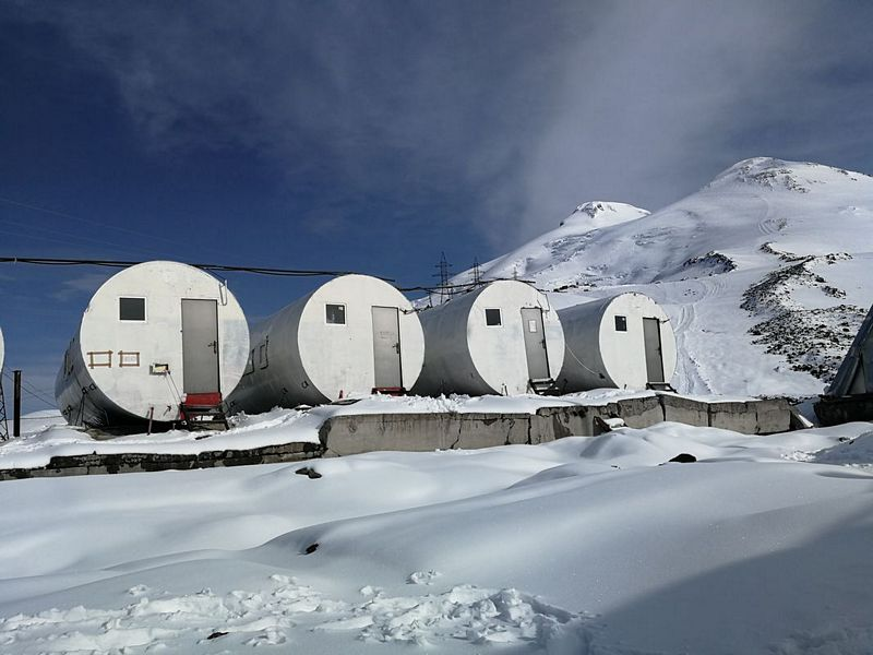 Mount Elbrus Beczki 3640